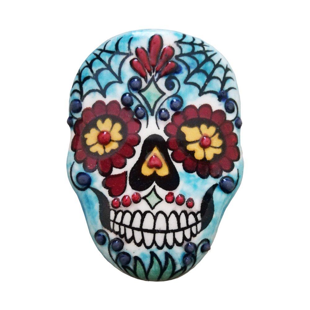Ceramic Magnet Skull 001