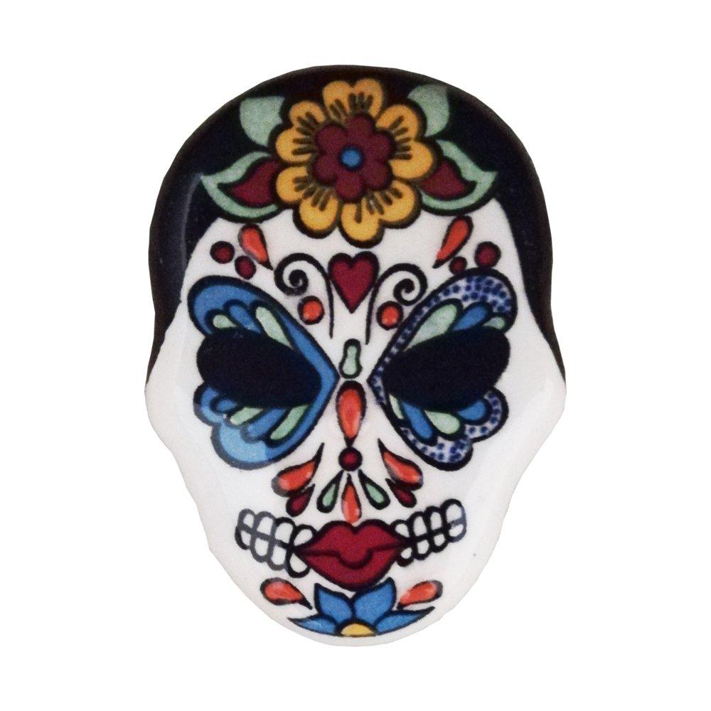 Ceramic Magnet Skull 002