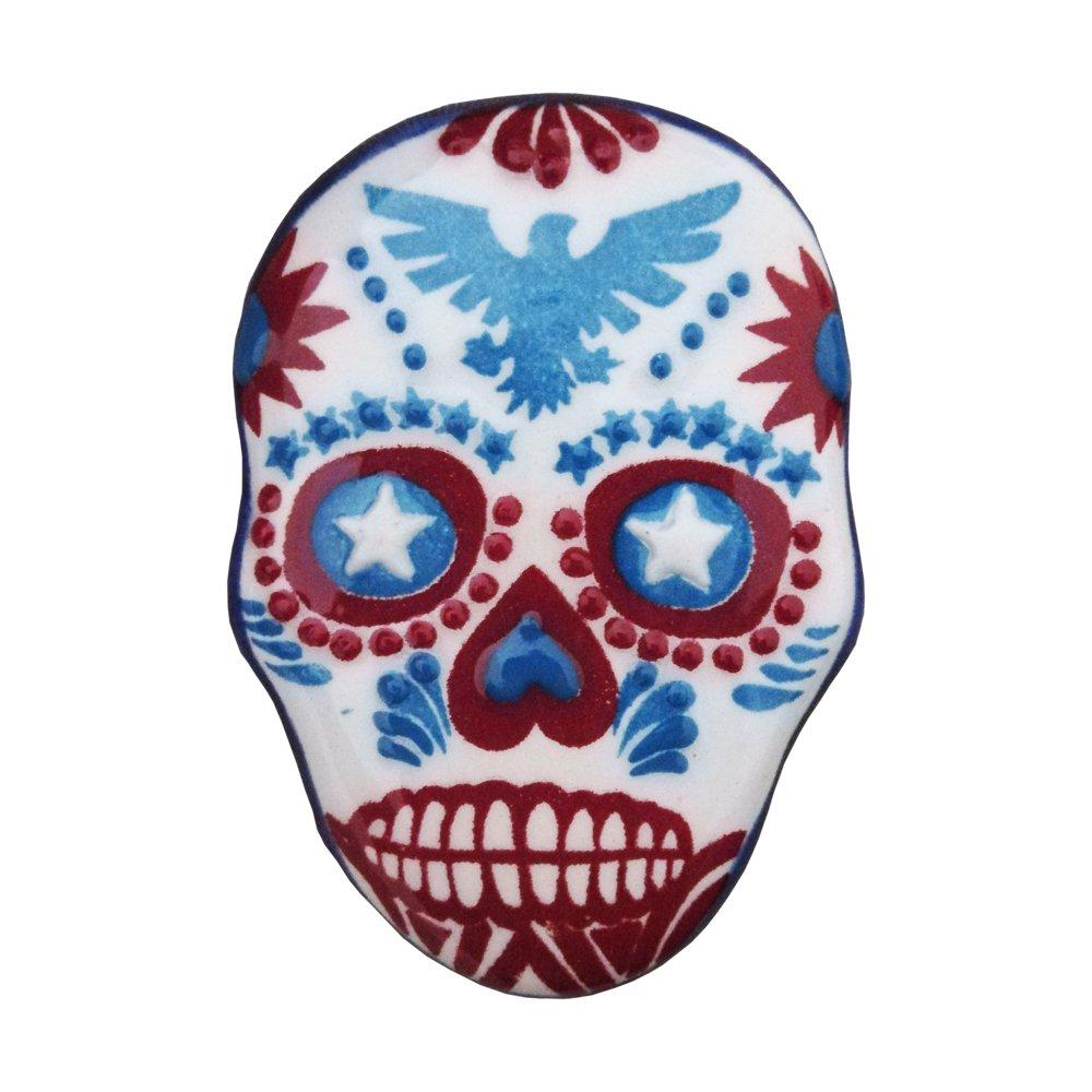 Ceramic Magnet Skull 004